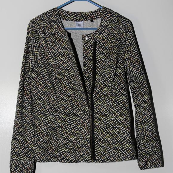 CAbi Jackets & Blazers - CABI Cliffside Moto Jacket Size M #5099